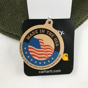 Carhartt Accessories - NWT Carhartt Visor Beanie Green Winter Hat